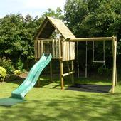 Langley Play Fort Package A from our children's Climbing Frames range