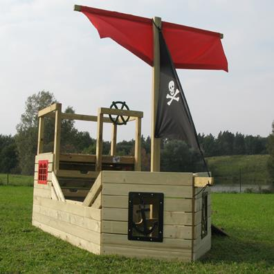 TP Forest Pirate Galleon from our children's Climbing Frames range