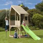 TP Forest Chalet without Wavy Slide from our children's Playhouses range