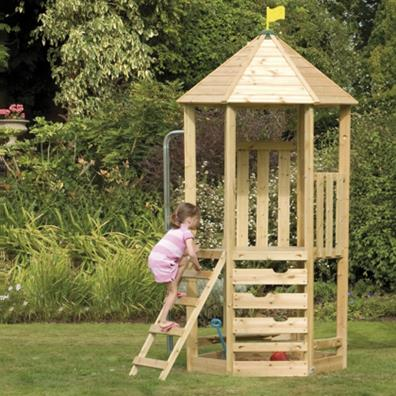TP Castlewood Tower from our children's Climbing Frames range