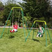 TP Early Fun Swing from our children's Metal Garden Swing Frames range
