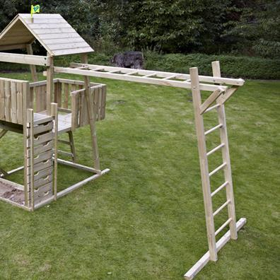 TP Kingswood2 Climbing Bridge from our children's Climbing Frames range