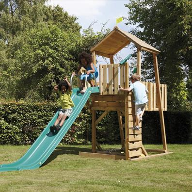 TP Kingswood2 Tower with Rapide Slide from our children's Climbing Frames range