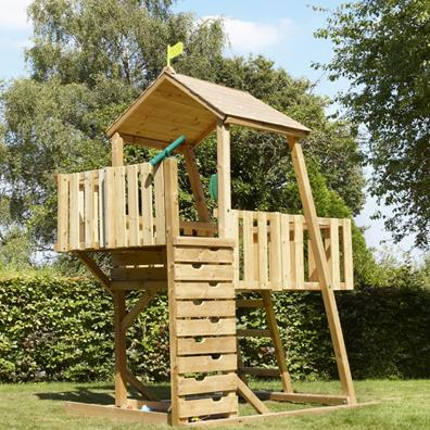 TP Kingswood2 Tower from our children's Climbing Frames range