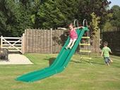 Rapide slide and stepset package in GREEN (TP) from our children's Stand alone slide sets range