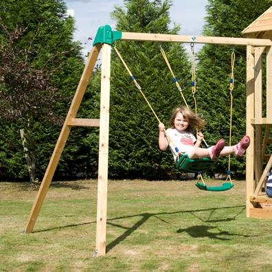 TP Castlewood Double Swing Arm from our children's Climbing Frames range