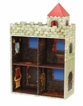 Exciting storage Solution! Children's Medieval Knight's Castle Bookcase from our children's Clearance range