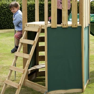 TP Castlewood Den Pack from our children's Climbing Frames range