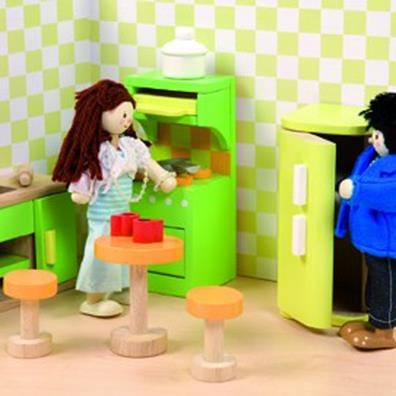 Sugar Plum Kitchen for Dolls Houses from our children's Clearance range