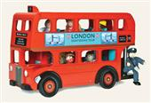 Le Toy Van London Bus with driver from our children's Wooden Indoor Toys range