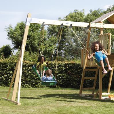 TP Kingswood2 Swing Arm from our children's Climbing Frames range