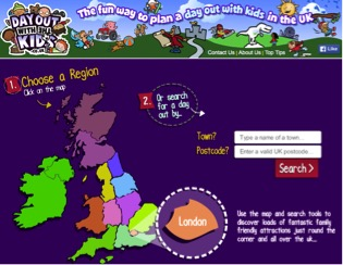 Days out with the kids directory