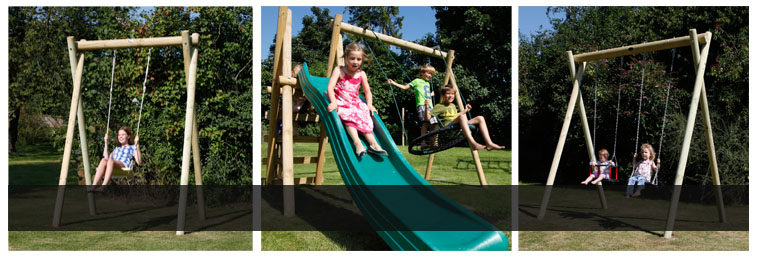 Exceptionnel Garden Swing Frames And Accessories For All Ages. Click Image To See Wooden  And Metal Garden Swing Frames From Houtland, TP And Langley