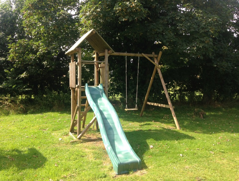 Active Toy Co wooden climbing frame
